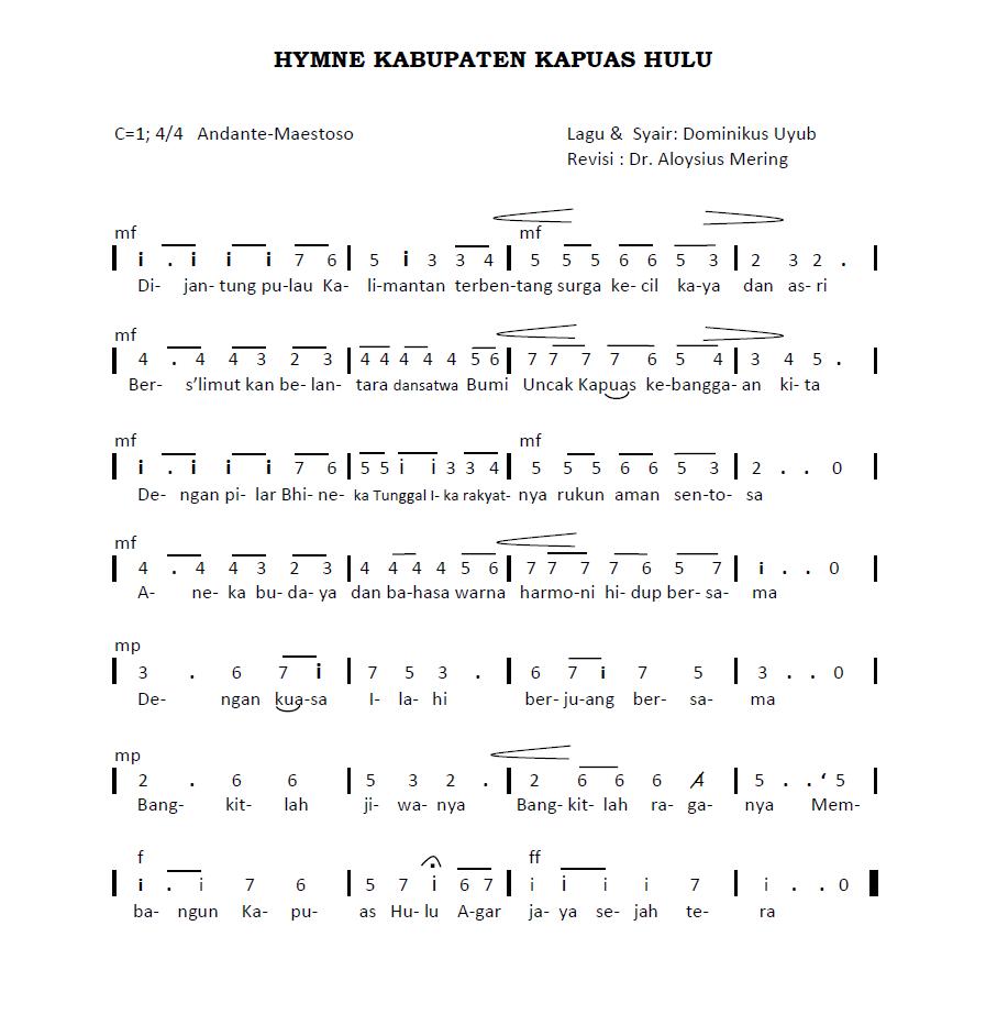 Hymne Kapuas Hulu